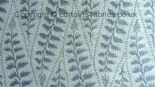 LOBELIA fabric by LISTER CORNICHE KESTREL