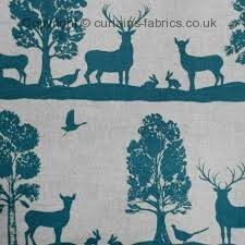 CAIRNGORMS fabric by LORIENT DECOR