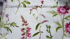 BOTANICAL made to measure curtains by PORTER & STONE