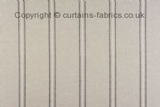 BROMLEY STRIPE made to measure curtains by PORTER & STONE