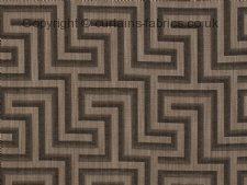 LABYRINTH made to measure curtains by Q DESIGNS
