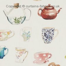 AFTERNOON TEA F1235 fabric by STUDIO G
