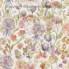 AUTUMN FLORAL fabric by VOYAGE DECORATION