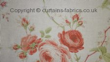 CERULEAN ROSE SOLD OUT fabric by YORKE INTERIORS