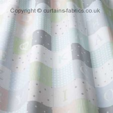 ALPHABET roman blinds by iLIV INTERIOR TEXTILES