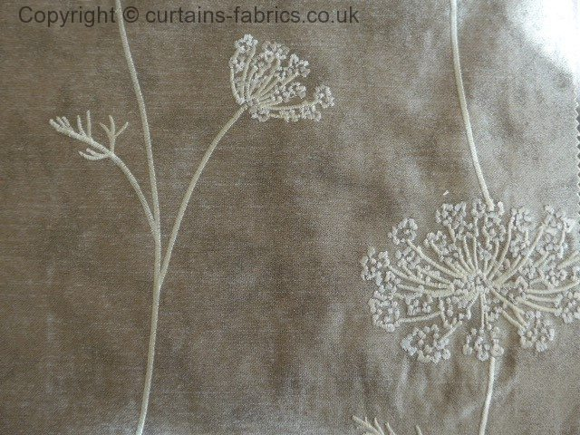 Nedla By Ashley Wilde Design In Taupe Curtain Fabric