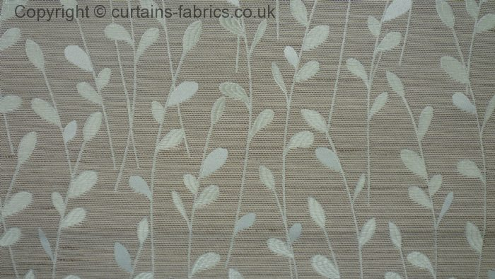 Flair By Bill Beaumont Textiles In Biscuit Curtain Fabric