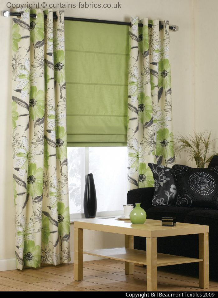 uk habitat curtains blinds leaf pattern patterned eyelet modern green curtainsgreen at awful made full photos designwags of design ready olive curtain size roller