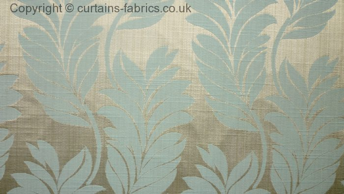Trevi By Bill Beaumont Textiles In Duckegg Curtain Fabric