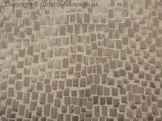Mosaic By Chatham Glyn Fabrics In Sand Curtain Fabric