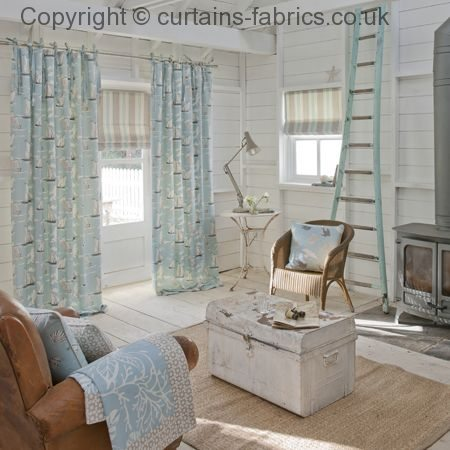 Seashells F0405 By Studio G In Maritime Collection Curtain