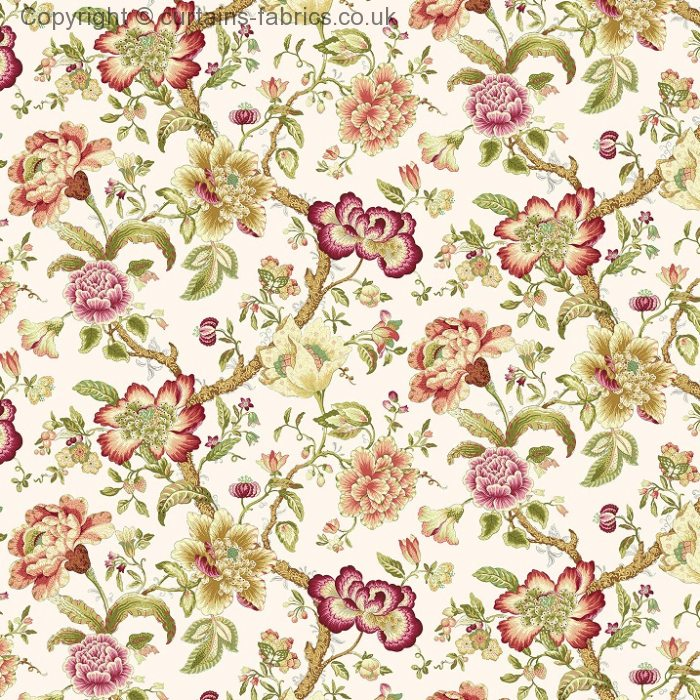 Blyton By Edinburgh Weavers In Chintz Curtain Fabric