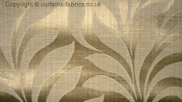BRONTE By FRYETTS FABRICS In ANTIQUE Curtain Fabric