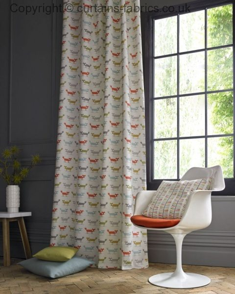 Foxy By Curtain Express In Multi Curtain Fabric