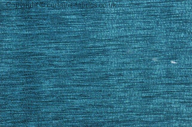 Kensington By Fryetts Fabrics In Peacock Curtain Fabric