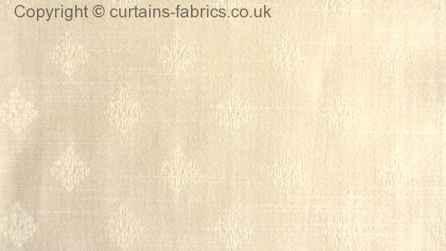Charlbury By Lister Corniche Kestrel In Ivory Curtain Fabric