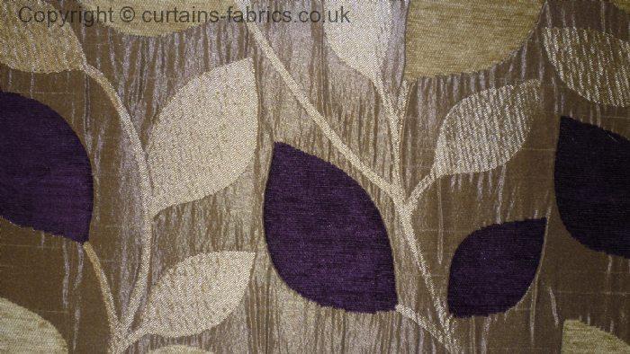 Matisse By Porter Amp Stone In Aubergine Curtain Fabric