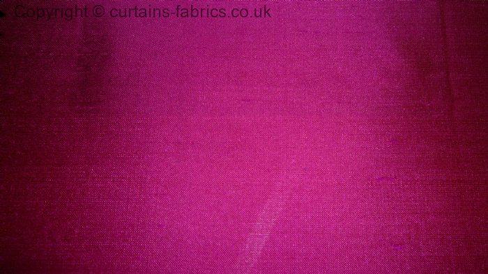 Cerise Pink Curtain Fabric Savae Org