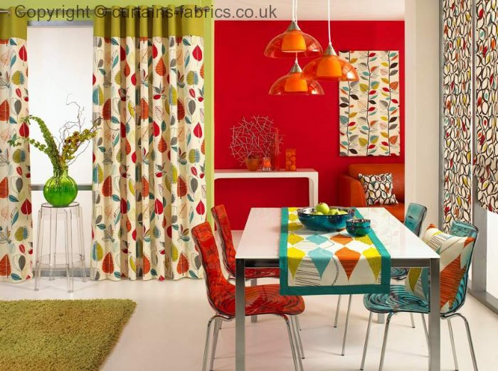 Autumn Leaves 5938 By Prestigious Textiles In A Delamere