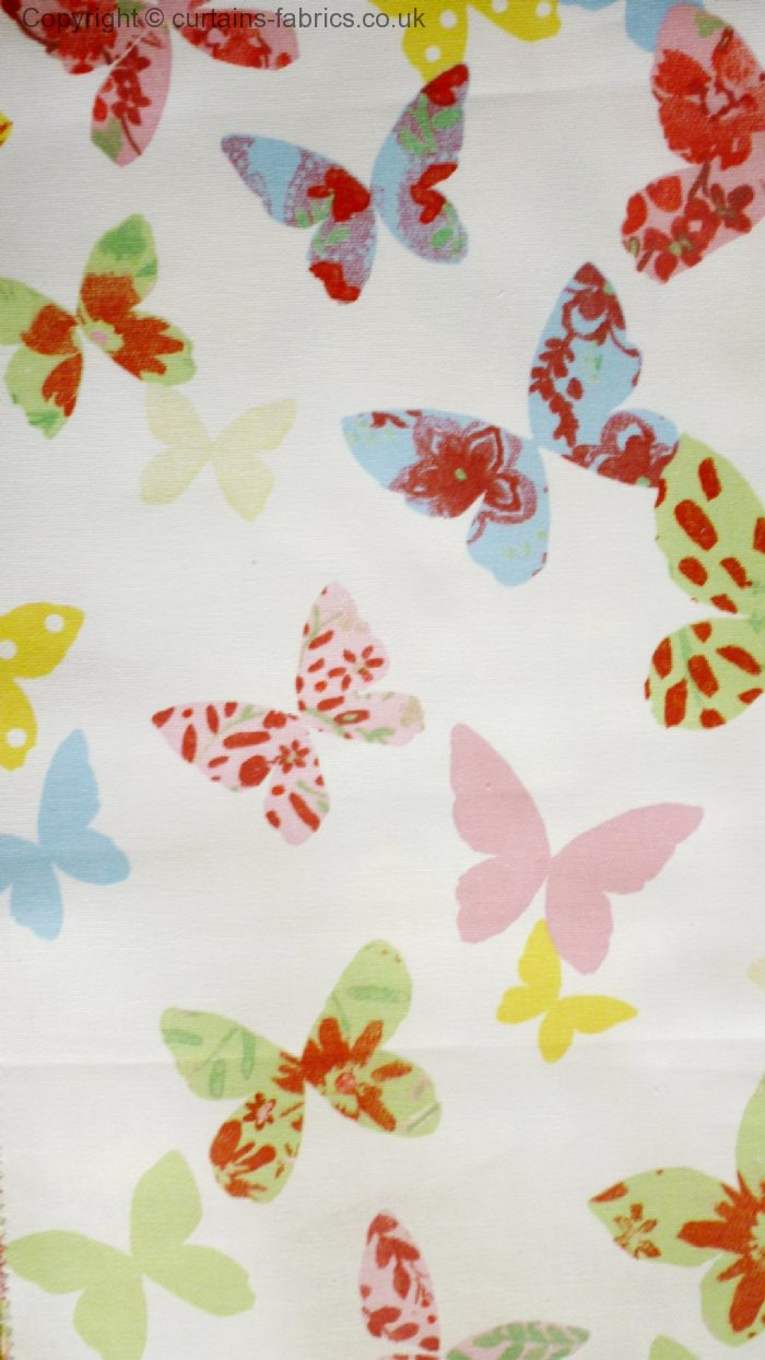 Butterfly 5860 By Prestigious Textiles In Chintz 008
