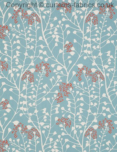 Hamilton By Tru Living In Turquoise 03 Curtain Fabric