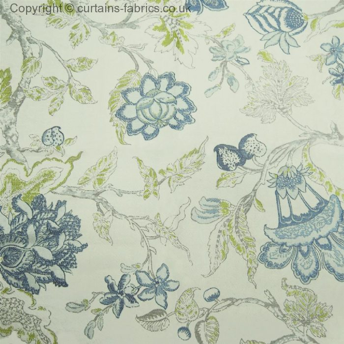 HATFIELD* (CHECK STOCK) By VOYAGE DECORATION In BLUEBELL