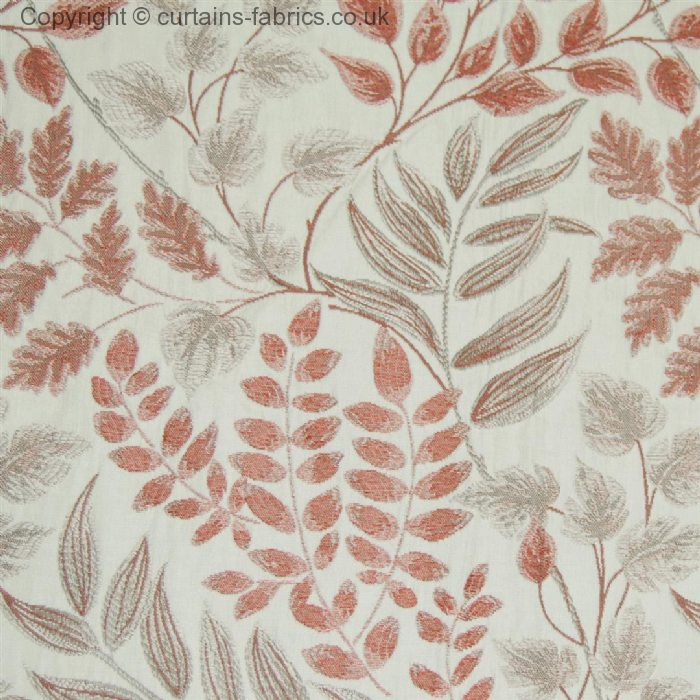 LISTARO By VOYAGE DECORATION In RUST Curtain Fabric