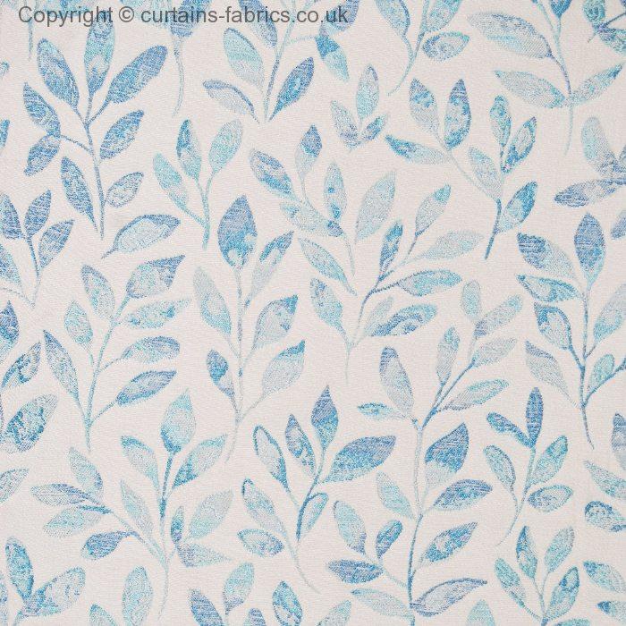 MALDON By VOYAGE DECORATION In AQUA Curtain Fabric