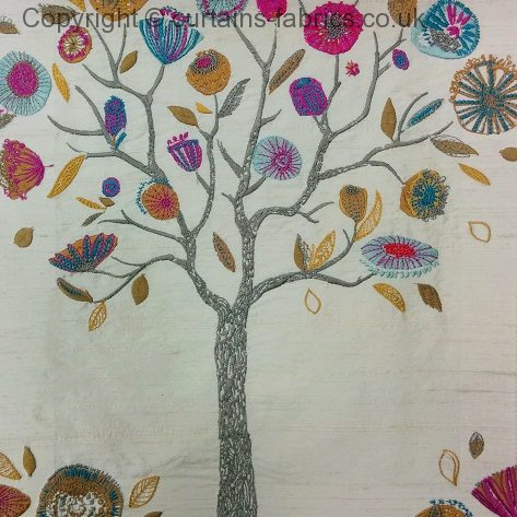 Myanmar By Voyage Decoration In Carnival Curtain Fabric