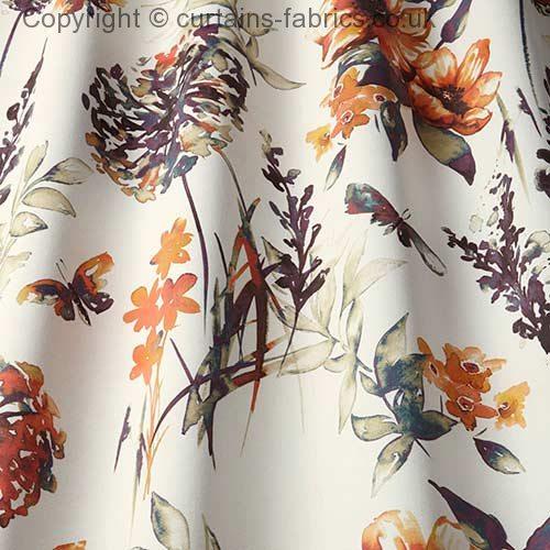 Catalina By Iliv Interior Textiles In Cinnamon Curtain Fabric