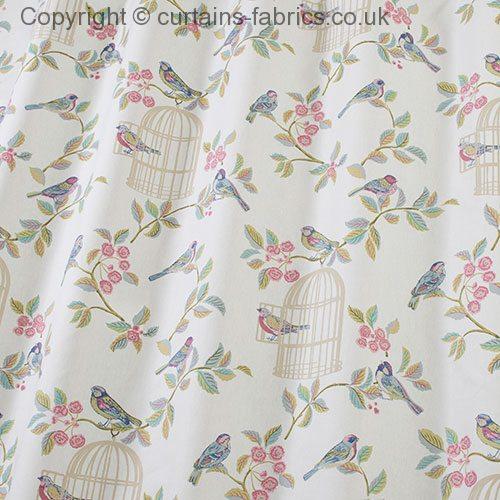 Song Bird By Iliv Interior Textiles In Eau De Nil Curtain